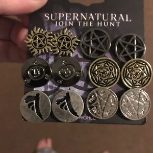 NWT CW's supernatural earring set